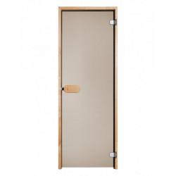 Dvere do sauny Limited 7x19 jelša madlo 20cm