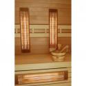 Infrapanely a infražiariče do sauny